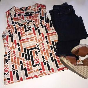 Ann Taylor Factory Flowy Tunic Size 10–B2